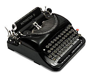 Remington Noiseless Portable No 5 Manual Typewriter