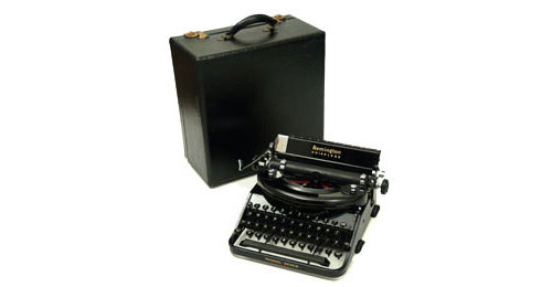 Remington Portable No 7 Manual Typewriter