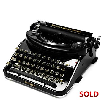 1935 Remington Rand Model 5 Manual Typewriter